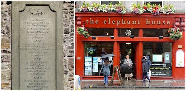 Tombe de Thomas Riddell et The Elephant House