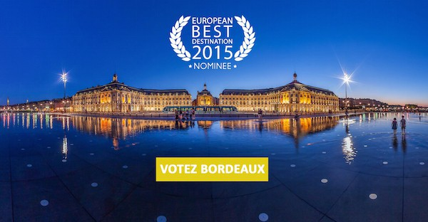 Votez Bordeaux European Best Destination