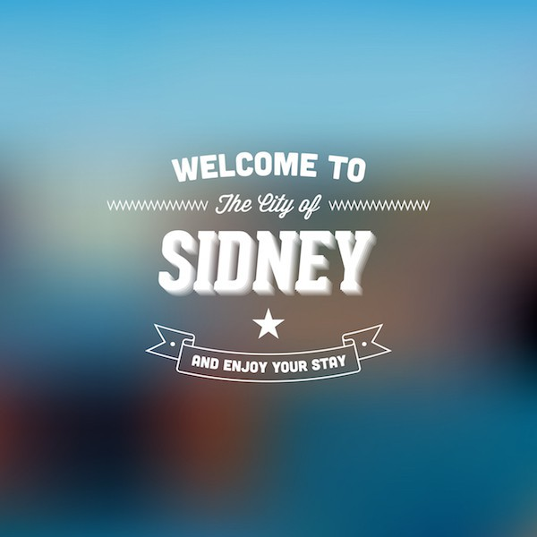 Welcome to sydney ©Archiwiz shutterstock