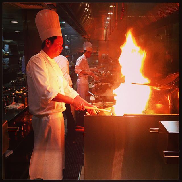 La cuisine au wok ca réchauffe