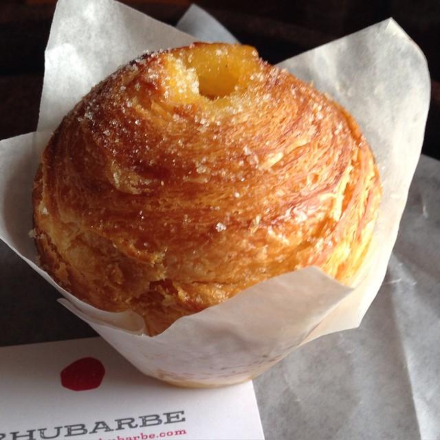 J'ai hâte d'en être au dessert - Rhubarbe - #Montreal