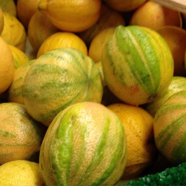 Des citrons tous zébrés