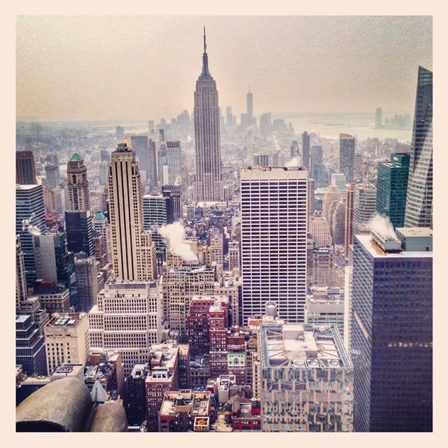 Vue sur l'Empire State Building