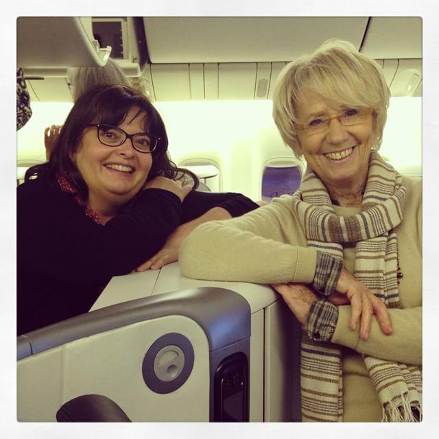 En route pour New York avec @lacuisinedemercotte avec @airfrance
