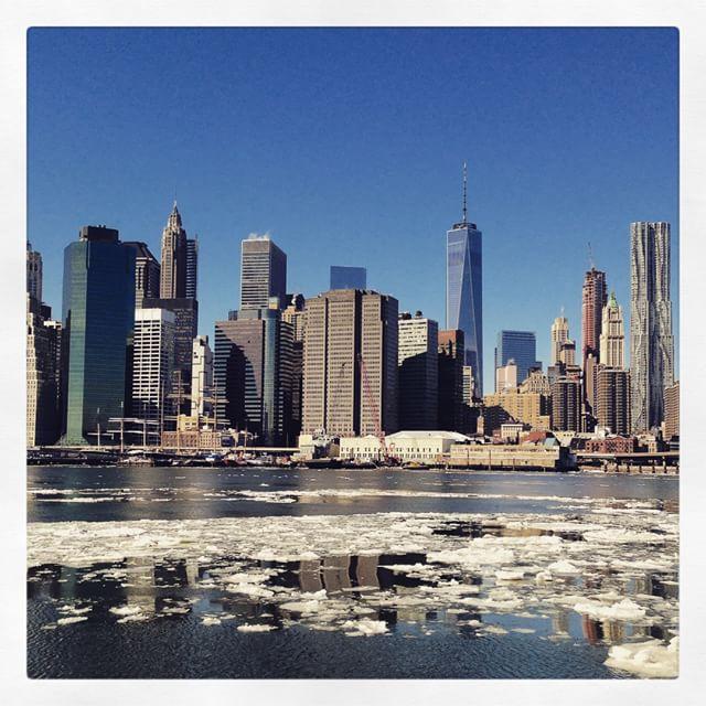 Vue sur Manhattan depuis Brooklyn