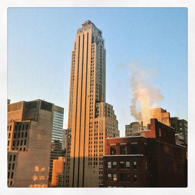 Lever de soleil - New York