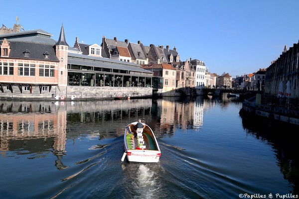 Gand - Les canaux
