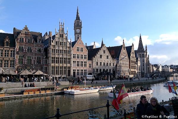 Les façades de Gand