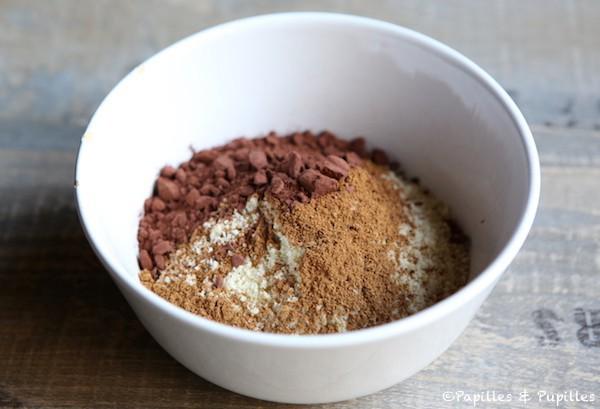 Noisettes épices et chocolat