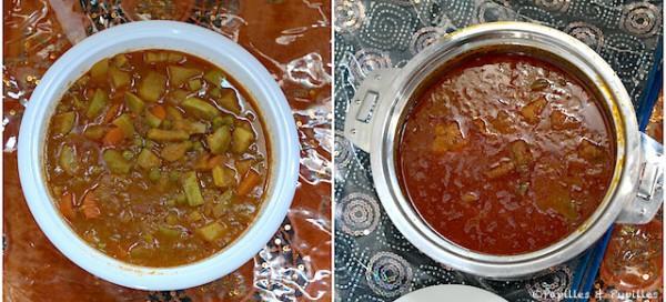 Saloona - Poulet et végétarienne