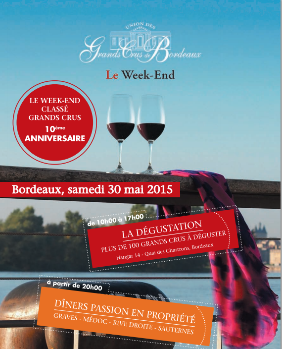 Week-end Des Grand Crus