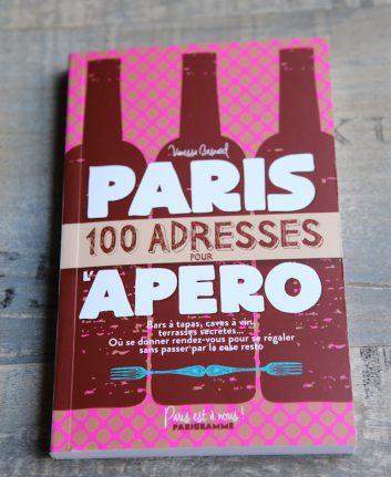 100 adresses pour l'apero - Paris