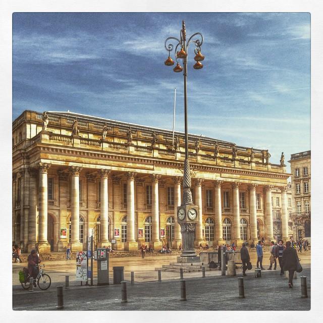 Bordeaux, le Grand théâtre