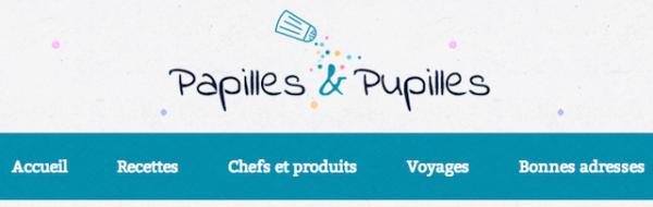Nouveau menu Papilles et Pupilles
