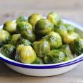 Choux de Bruxelles rôti à l'huile d'olive