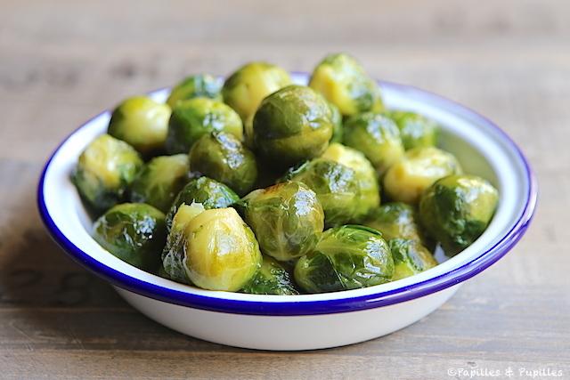 Choux de bruxelles r ti l 39 huile d 39 olive - Comment congeler des choux de bruxelles ...