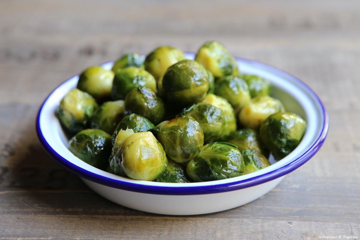 Choux de Bruxelles rôtis à l'huile d'olive