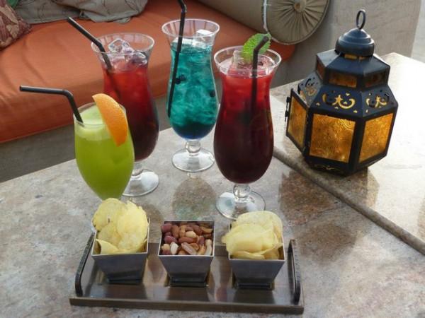 Cocktail entrée du désert