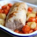 Filet mignon de veau aux petits légumes