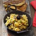 Filets de daurades et purée de pommes de terre aux olives ( c) Ph. Asset MixnOlives