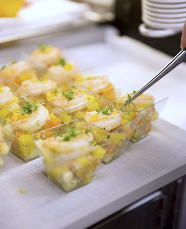 Le homard et céleri au genièvre et citron © Air France - Claire Lise HAVET