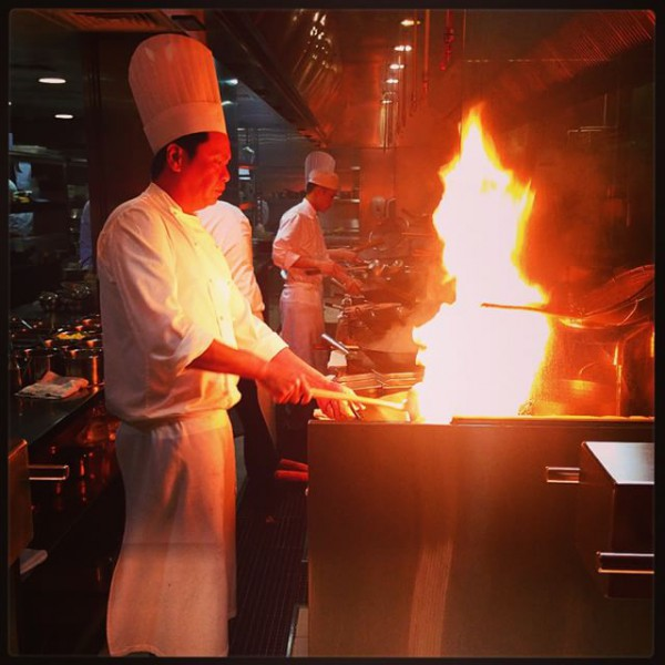 Le travail au wok chez Hakkasan - Dubai