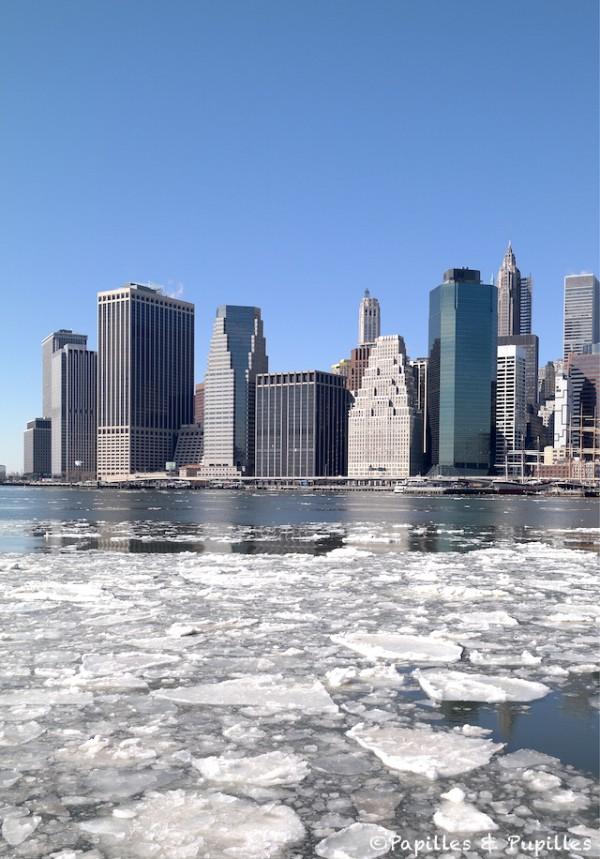 Manhattan, vue depuis Brooklyn