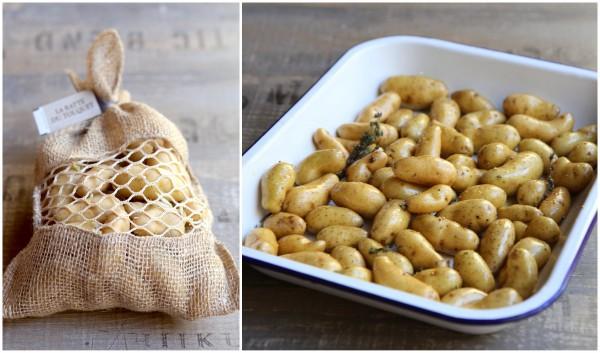 Rattes du Touquet - Sachet et avant cuisson