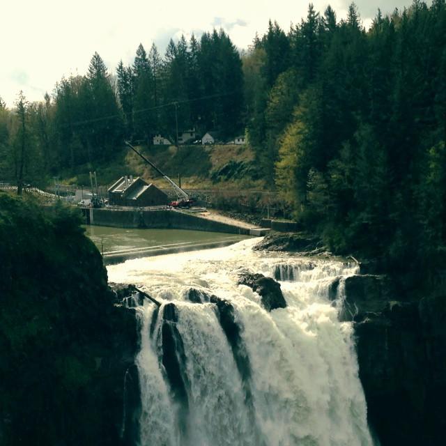 Snoqualmie falls - les chutes d'eau de la Série Twin Peaks :)