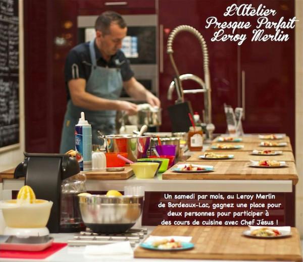 Atelier culinaire Chef Jesus