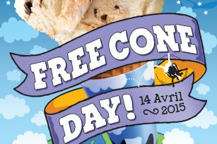 Free Cone Day - 14 avril 2015