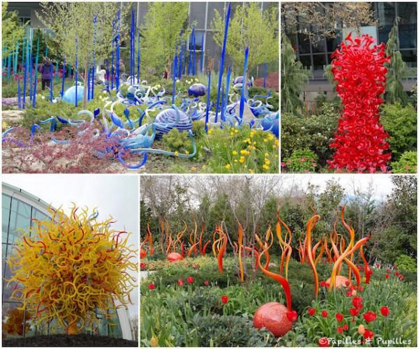 Les magnifiques statues de verre de Chihuly Garden and Glass