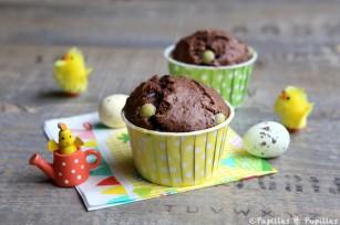 Muffins au chocolat et noix de pécan
