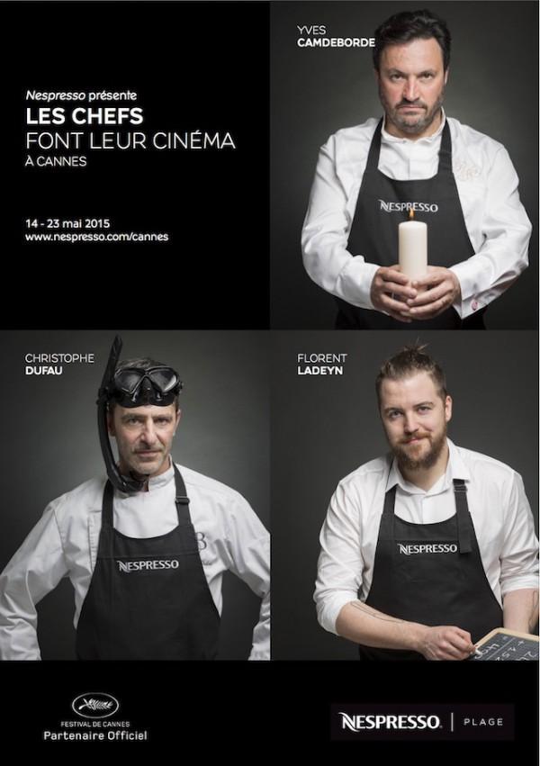 Nespresso  - Les chefs font leur cinéma