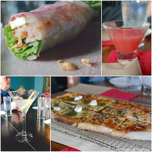 Quelques plats du food tour - Seattle