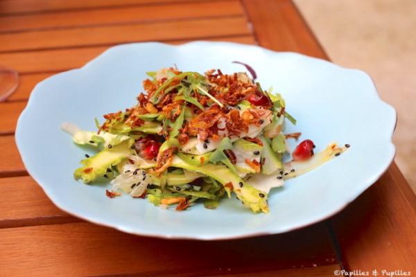 Salade croquante aux asperges