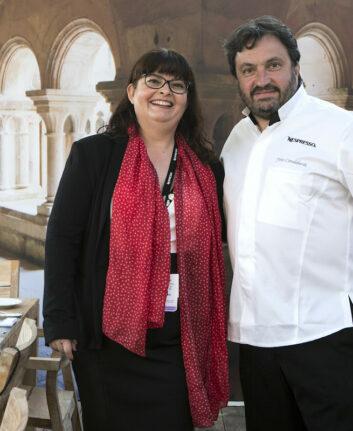 Anne avec Yves Camdeborde ©NguyenNgocEmmanuel