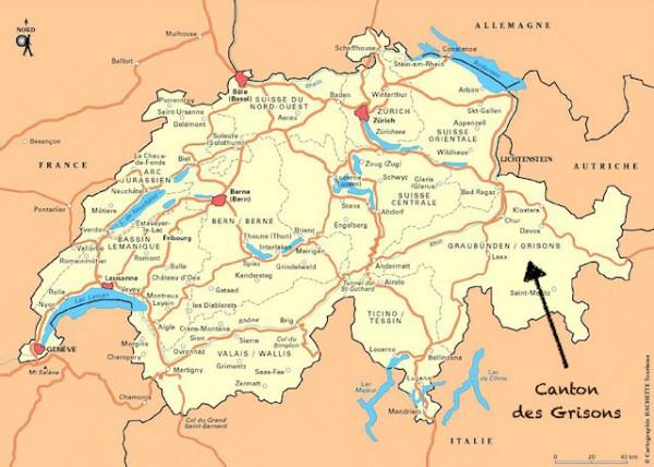 Canton des Grisons ©Ordiecole