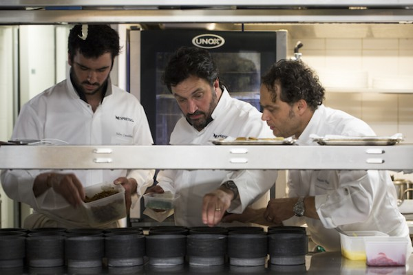 Julien et Yves Camdeborde, François Vadala