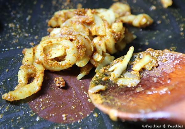 Oignon, ail et épices