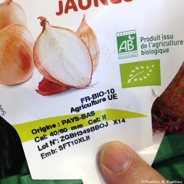 Oignons bio - Pays Bas