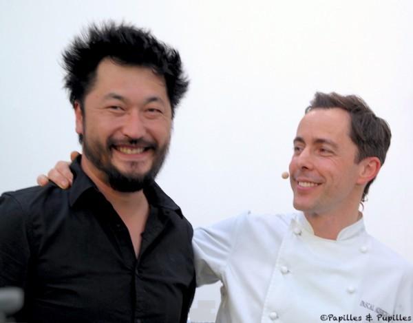 Pascal Aussignac et son ancien élève Pierre Sang