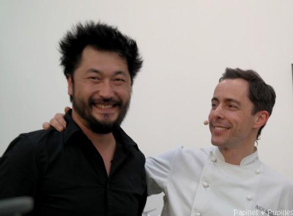 Pierre Sang et Pascal Aussignac (Duck'n'Roll - Londres)