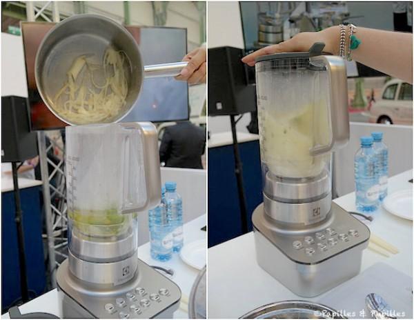 Réalisation de la sauce pour les asperges