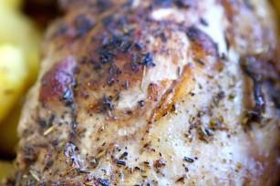 Rôti de porc cuisson basse température