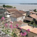 Vue sur la ville basse depuis la ville haute - Bourg