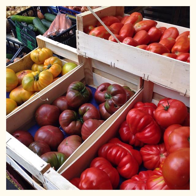 Les tomates de Philippe Lherme - Marché des Capucins - Bordeaux