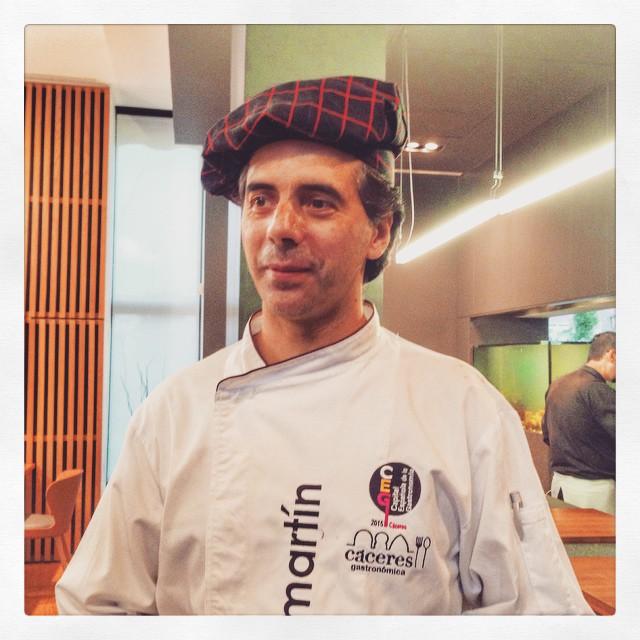 Javier Martin - cuisine exceptionnelle à prix raisonnable -  Caceres, Espagne