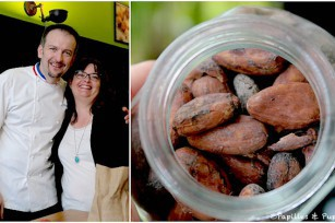 Avec David Capy - Fèves de Cacao
