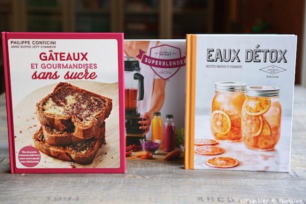 Gâteaux et gourmandises sans sucre - Super Blender - Eaux détox
